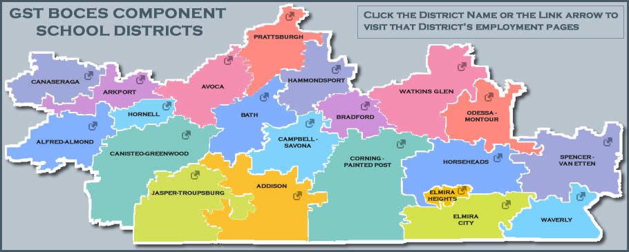 GST Component Districts and Employment links